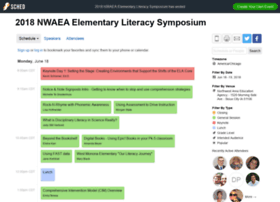 2018nwaeaelementaryliteracy.sched.com