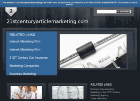 21stcenturyarticlemarketing.com