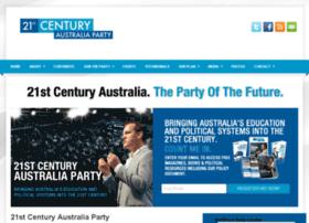 21stcenturyaustraliaparty.com.au
