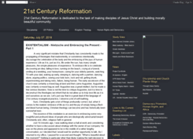21stcenturyreformation.blogspot.fr