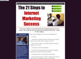 21stepstointernetmarketingsuccess.com