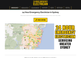 24houremergencyelectriciansydney.com.au