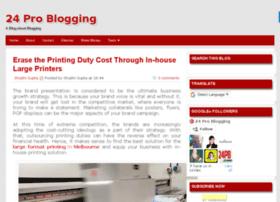 24problogging.com