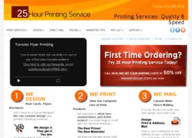 25hourprintingservice.com