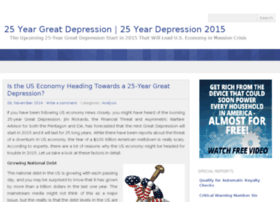 25yeargreatdepression.com