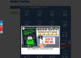 2ndgradespelling.com