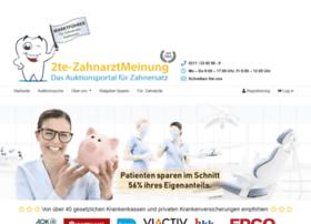 2te-zahnarztmeinung.de