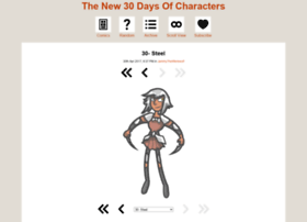 30l30characters.thecomicseries.com