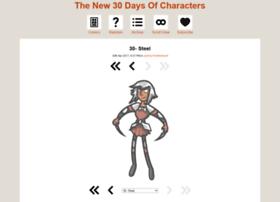 30l30characters.thecomicseries.com