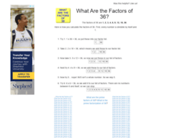 36.what-are-the-factors.com