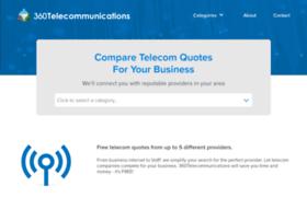 360telecommunications.com