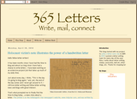 365lettersblog.blogspot.com