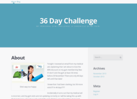 36daychallenge.wordpress.com