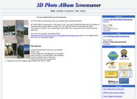 3d-photo-album-screensaver.com