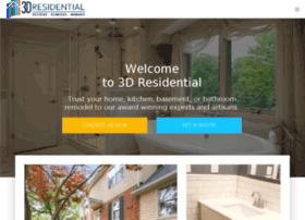 3d-residential.com