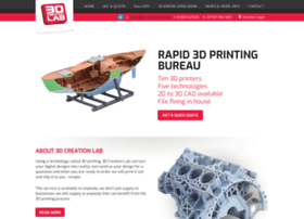 3dcreationlab.co.uk