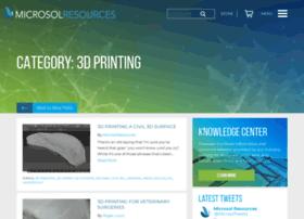 3dprinting.microsolresources.com