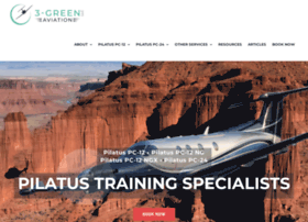 3greenaviation.com