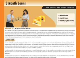 3monthloans.me.uk