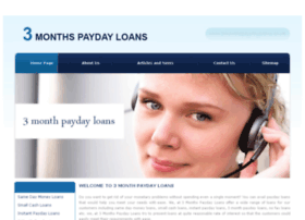 3monthspaydayloans.co.uk