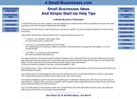 4-small-businesses.co.uk