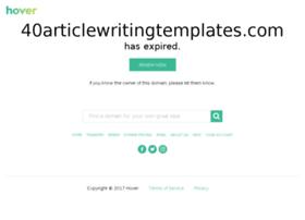 40articlewritingtemplates.com