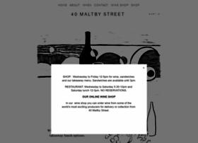 40maltbystreet.com