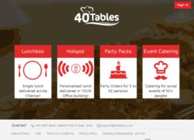 40tables.com