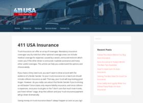 411usainsurance.com