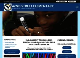 42street-lausd-ca.schoolloop.com