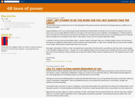 48-laws-of-power.blogspot.pt