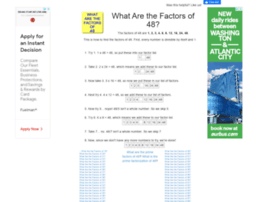 48.what-are-the-factors.com