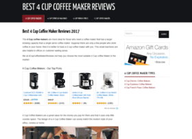 4cupcoffeemakerreviews.net