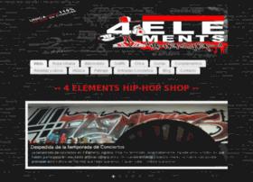 4elements-hiphopshop.com