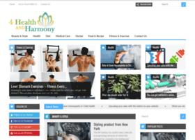 4healthandharmony.com
