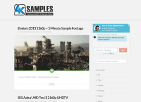 4ksamples.com