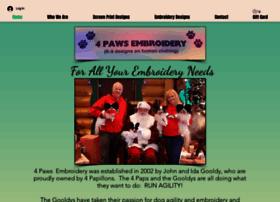 4pawsembroidery.com