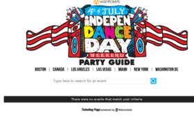 4thofjuly.wantickets.com