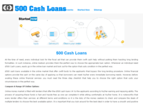 500cashloans.co.uk