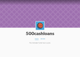 500cashloans.tumblr.com