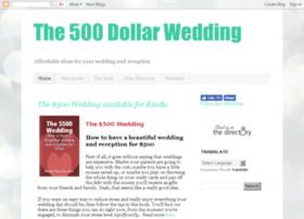 500dollarwedding.blogspot.com