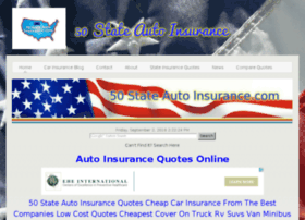 50stateautoinsurance.com