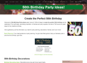 50th-birthday-party-ideas.com