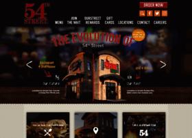 54thstreetgrill.com