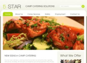 5starcampcatering.com