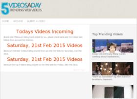 5videosaday.com