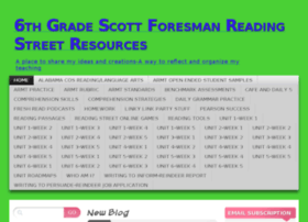 6thgradescottforesmanreadingstreetresources.wordpress.com