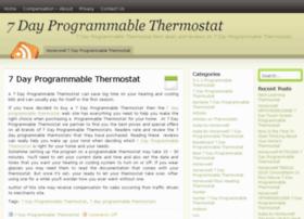 7dayprogrammablethermostat.com