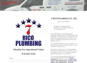 7ricoplumbing.com