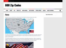 800zipcodes.com